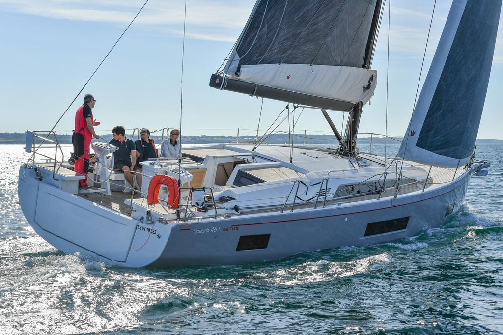 Oceanis 46.1 (SALTY KISS)  - 1