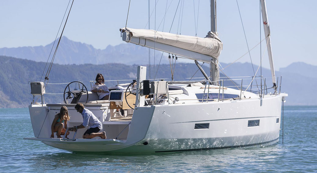 Dufour 430 Grand Large (Blue Moon ii)  - 1