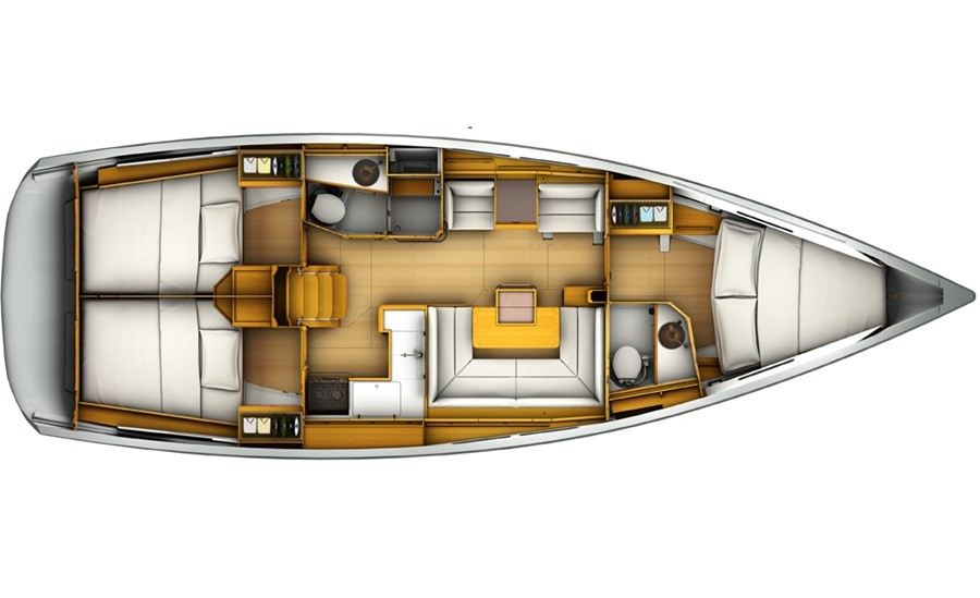 Sun Odyssey 419 (WEATHER OR KNOT)  - 5
