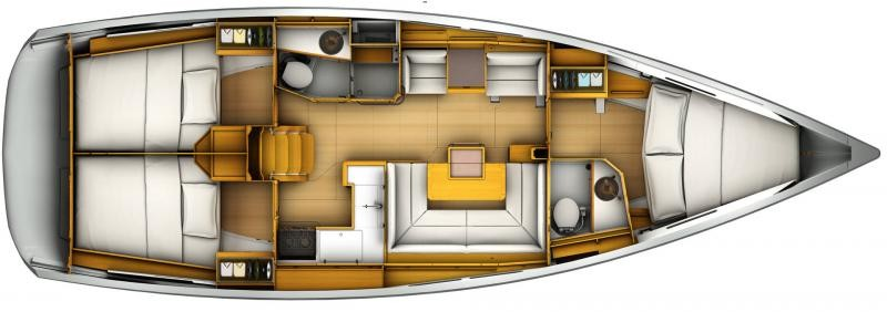 Sun Odyssey 419 (WEATHER OR KNOT)  - 6