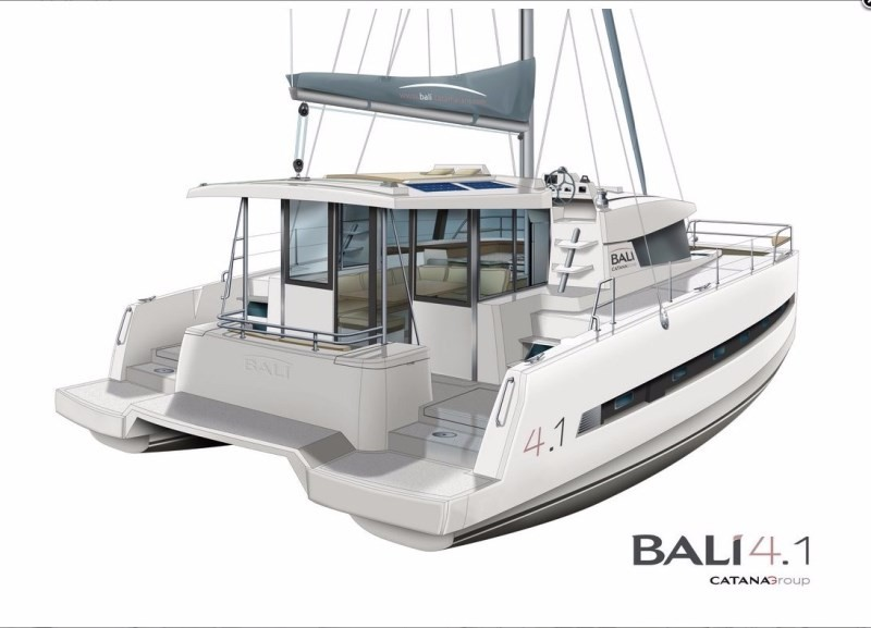 Bali 4.1 with watermaker (CARLINE)  - 2