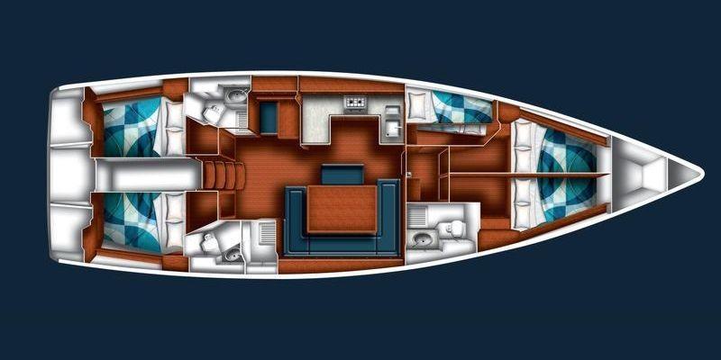 Bavaria Cruiser 51 Aircond (NOVE)  - 22