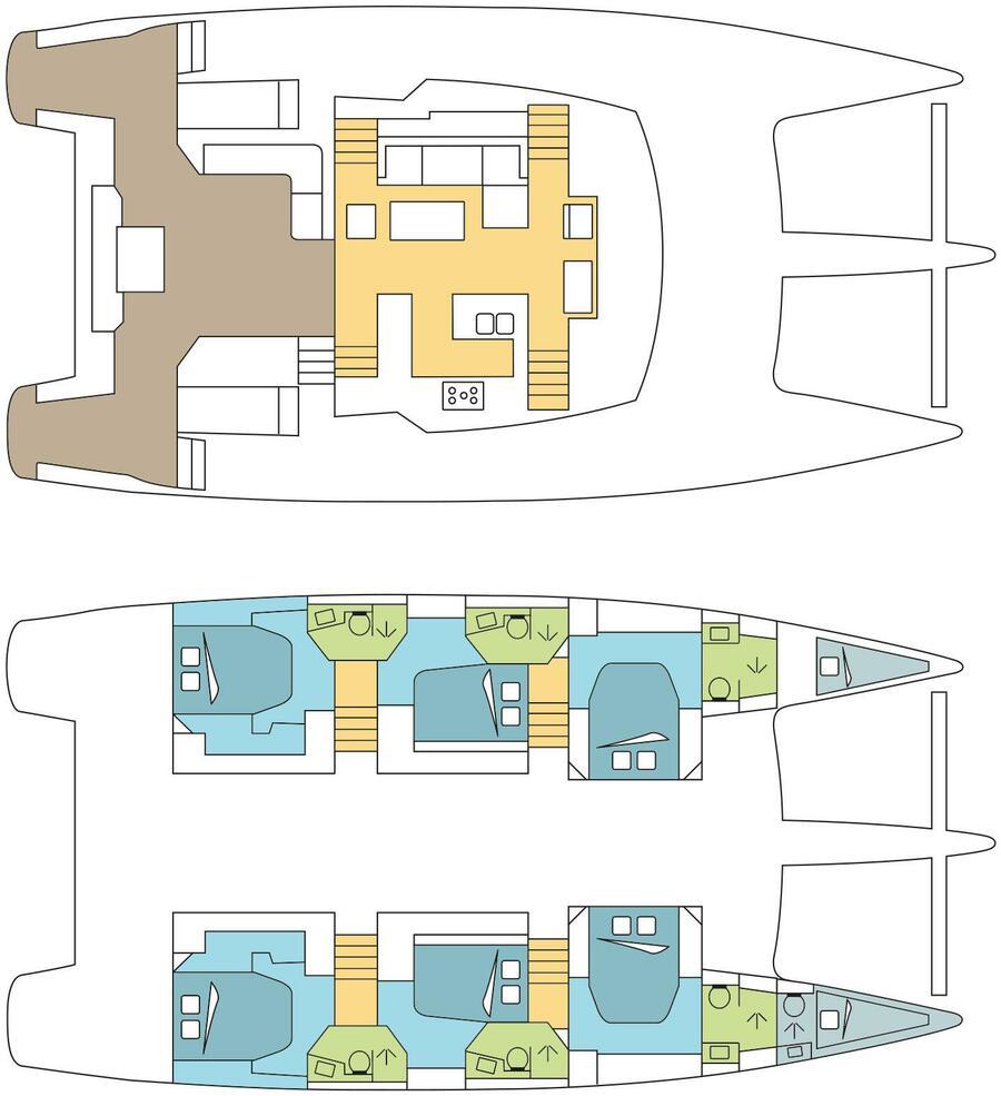 Ipanema 58 Crewed (DREAM BATTOWIA)  - 8
