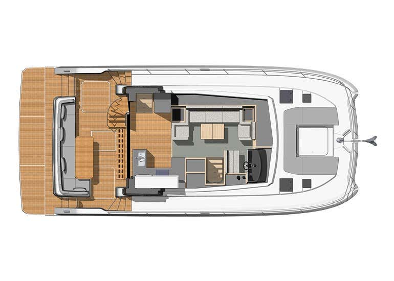 Fountaine Pajot MY 40 (Pegasus)  - 3