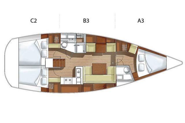 Hanse 400E (AEOLUS)  - 9
