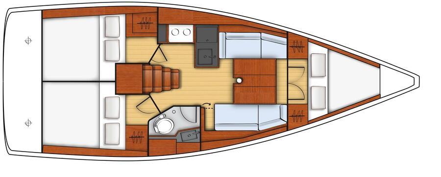 Oceanis 35.1 (BALI II)  - 5