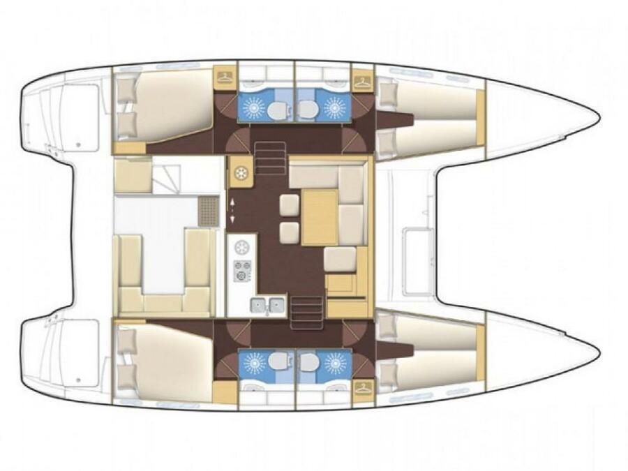 Lagoon 400 (NAILAH)  - 7