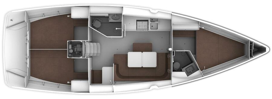 Bavaria Cruiser 41 Style (OFFSPRING)  - 9
