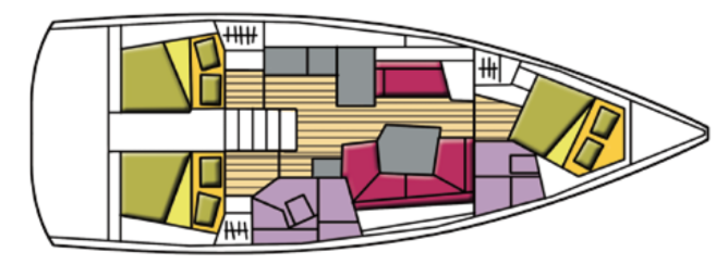 Oceanis 41.1 (Agena)  - 7