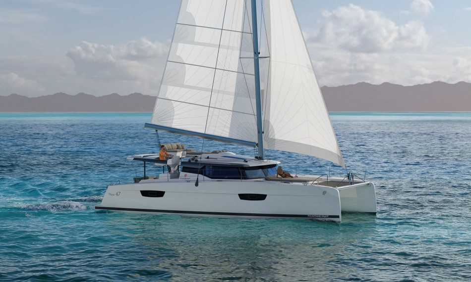 Saona 47 with watermaker & A/C - PLUS (BEYOND)  - 2