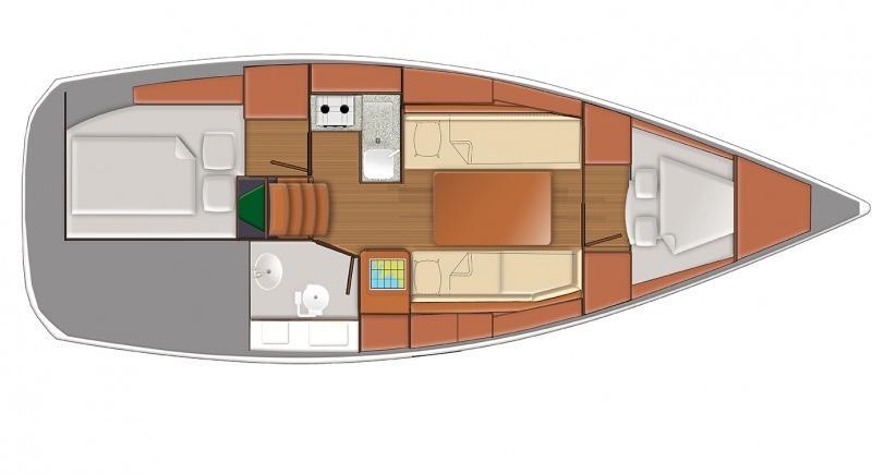 Sun Odyssey 319 (Tatjana)  - 7
