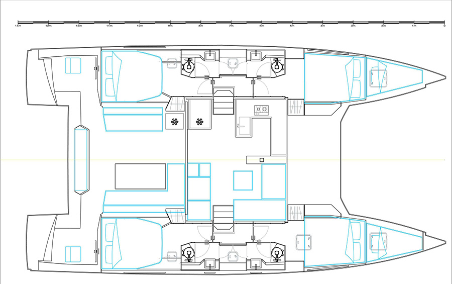 Nautitech 46 Flybridge (SANTORIN_DB)  - 20