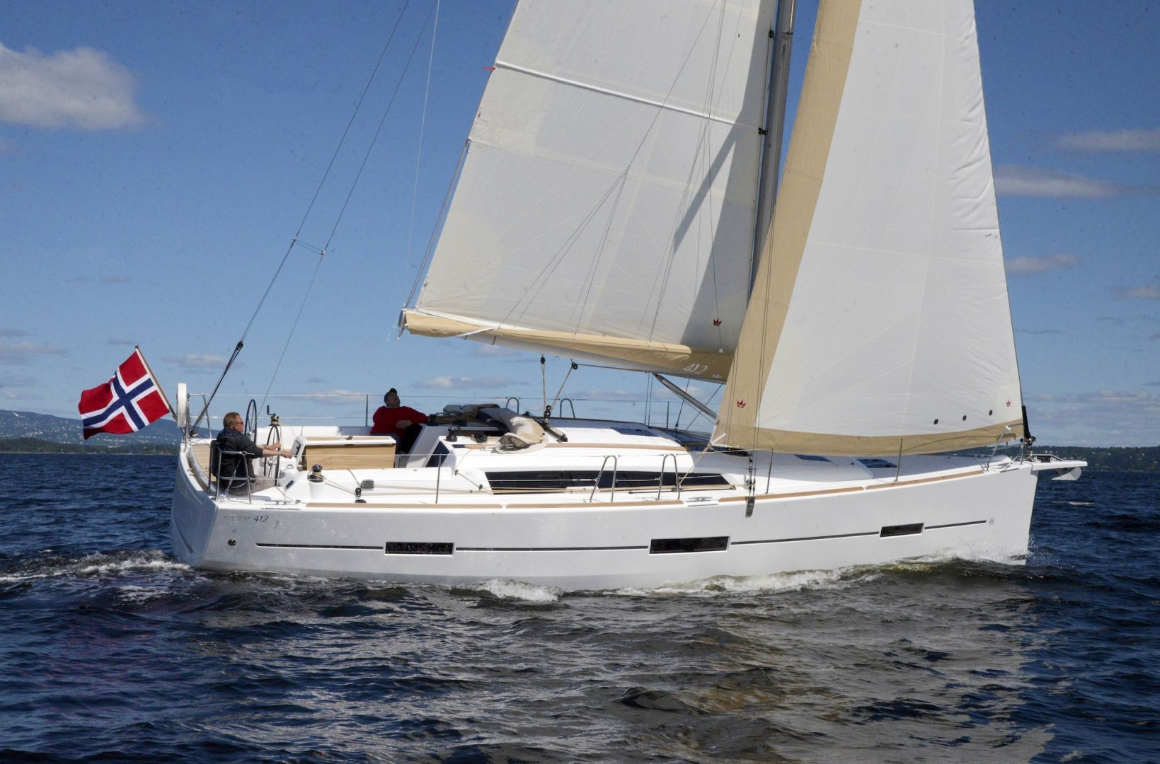 Dufour 412 Grand Large (ALTAIR_DB)  - 0