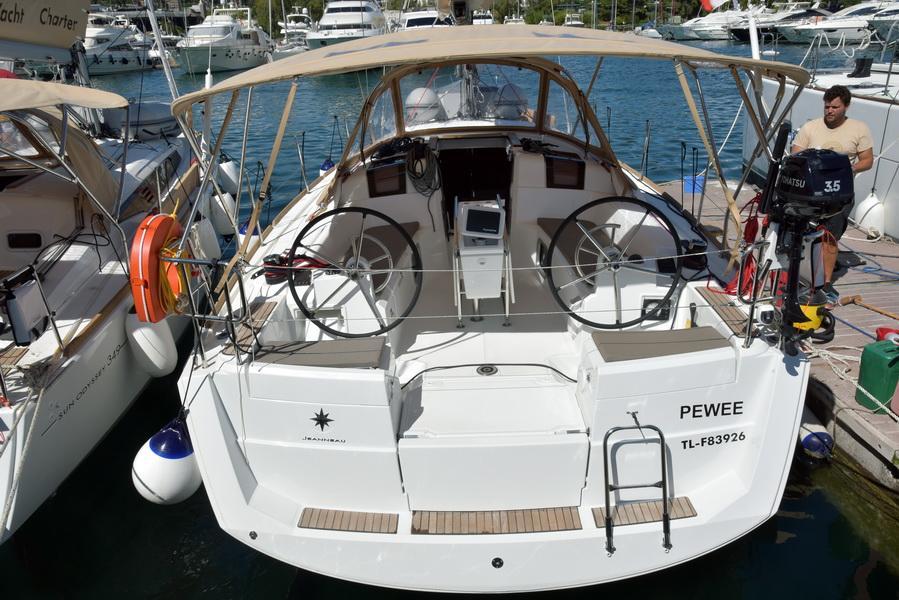 Sun Odyssey 389 (PEWEE_DB)  - 0