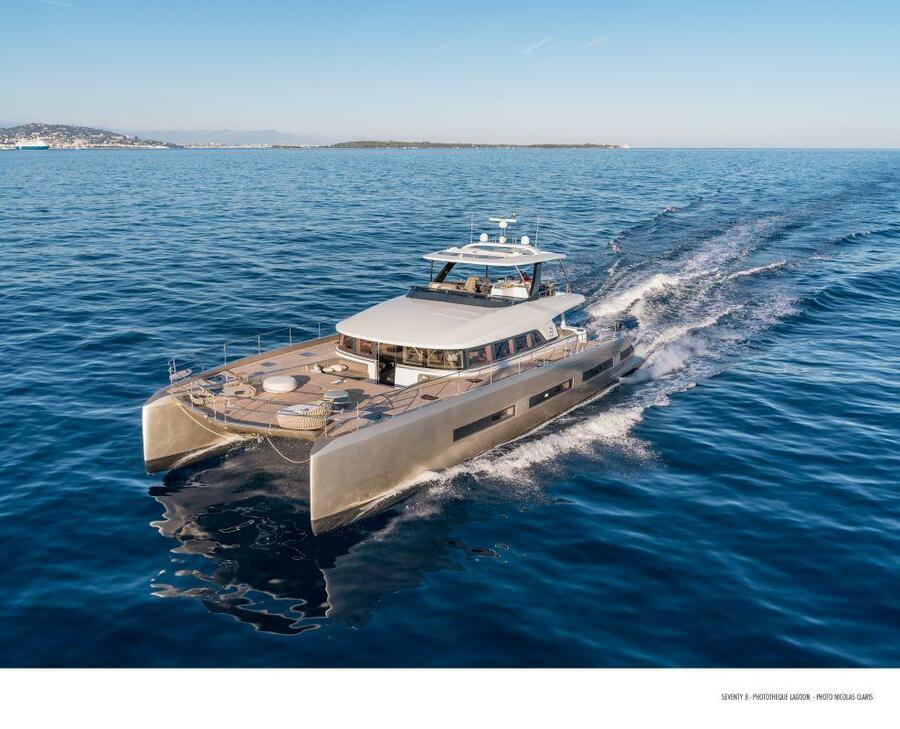 Lagoon 78 Power Catamaran Crewed (FRENCHWEST)  - 0