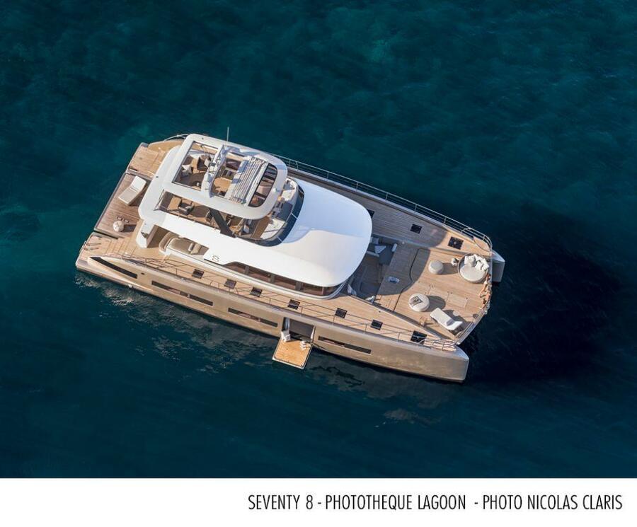 Lagoon 78 Power Catamaran Crewed (FRENCHWEST)  - 2
