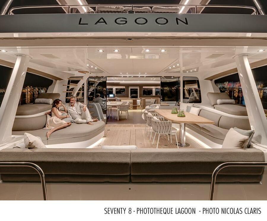 Lagoon 78 Power Catamaran Crewed (FRENCHWEST)  - 5