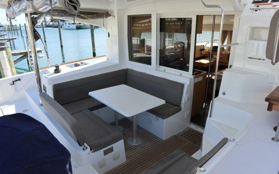 Lagoon 40 Power Catamaran with A/C (Lion of the Sea_DB)  - 1