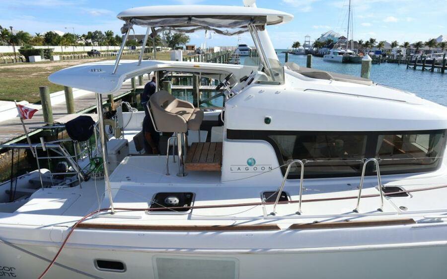Lagoon 40 Power Catamaran with A/C (Lion of the Sea_DB)  - 6