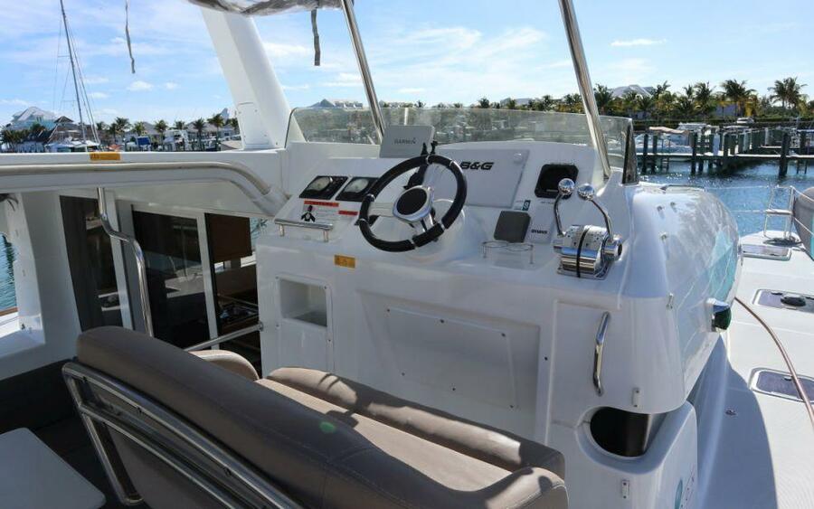 Lagoon 40 Power Catamaran with A/C (Lion of the Sea_DB)  - 5