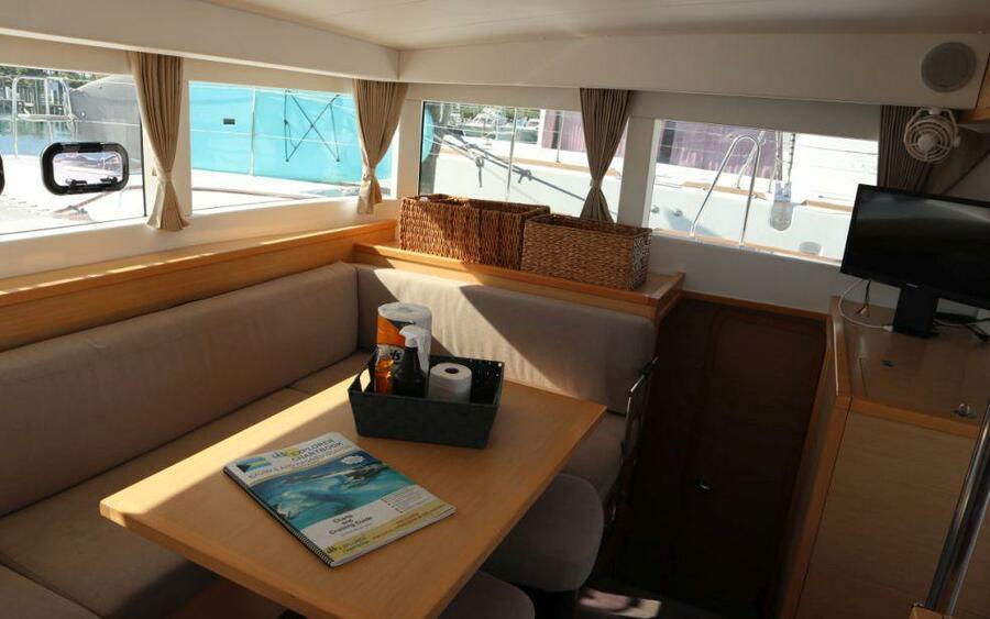 Lagoon 40 Power Catamaran with A/C (Lion of the Sea_DB)  - 15
