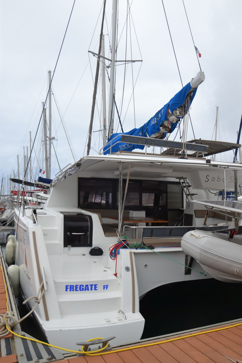 Saba 50 with watermaker & A/C - PLUS (FREGATE_DB)  - 17