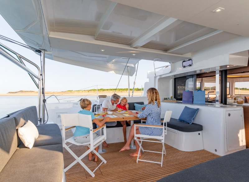 Lagoon 46 with watermaker & A/C - PLUS (FLX_DB)  - 2