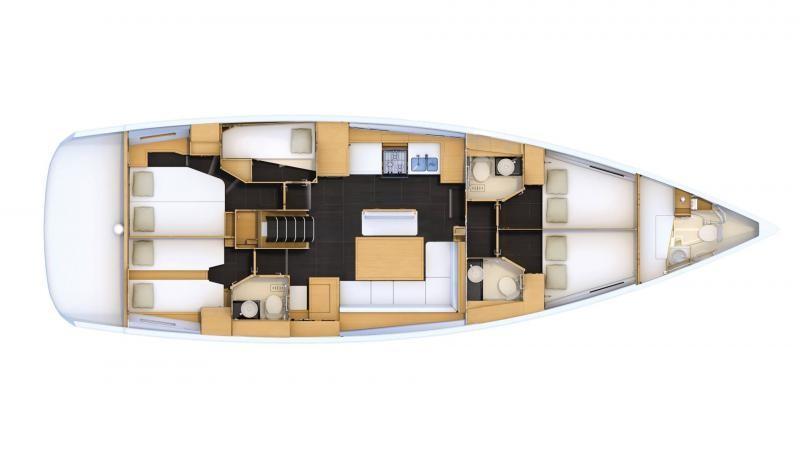 Jeanneau 54 Skippered (ath5410)  - 1