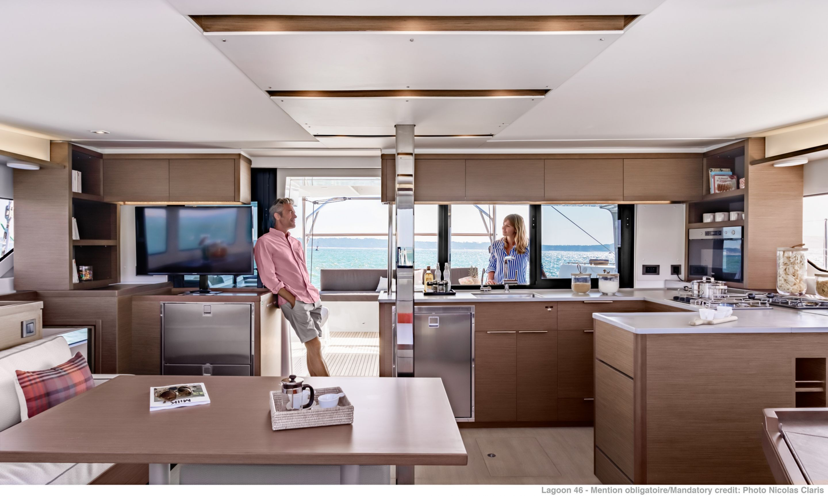 Lagoon 46 (GRAND BLUE (SKIPPERED ONLY))  - 5