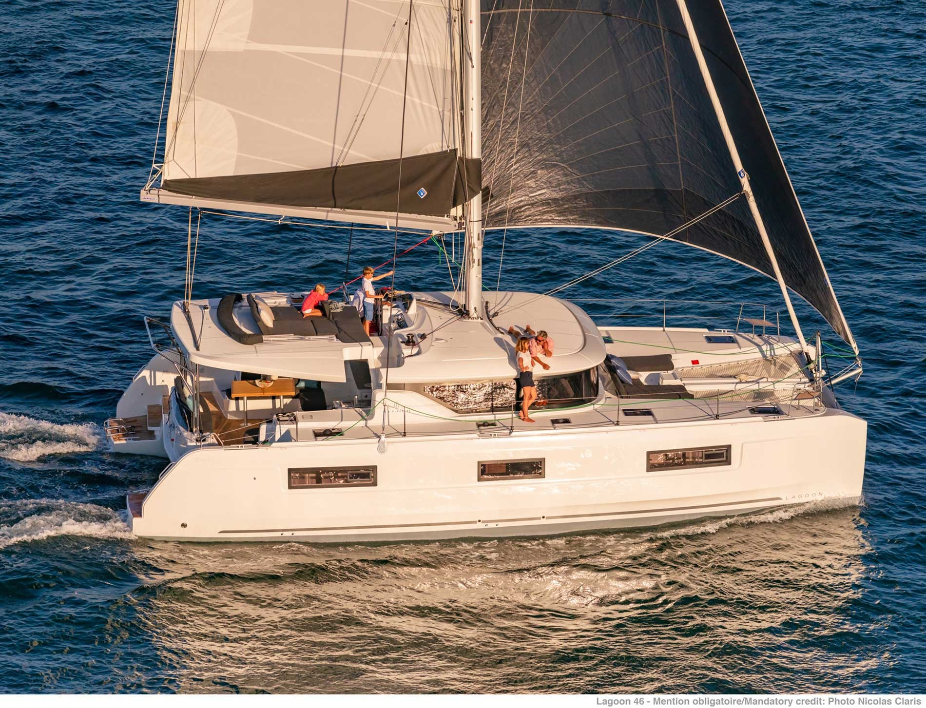 Lagoon 46 (GRAND BLUE (SKIPPERED ONLY))  - 0