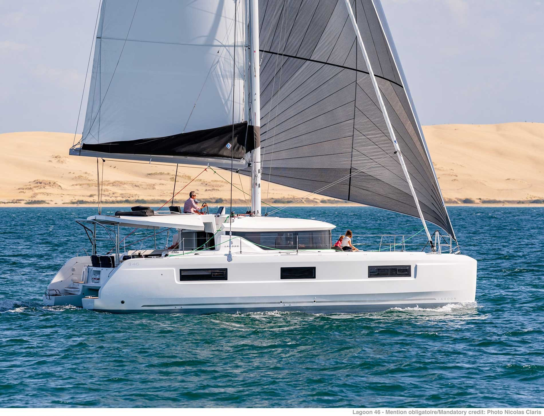 Lagoon 46 (GRAND BLUE (SKIPPERED ONLY))  - 1