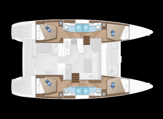 Lagoon 450 F (ZACAPA)  - 5