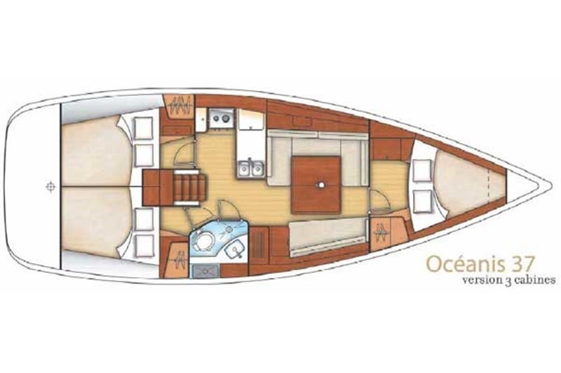 Oceanis 37 (Vassiliki)  - 6