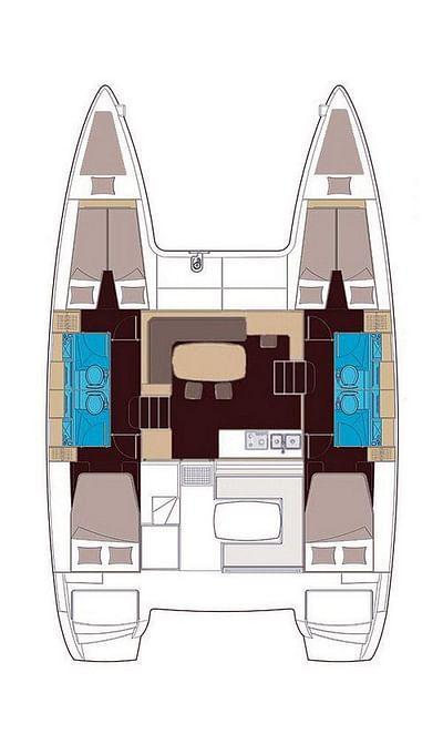 Lagoon 400 S2 (IRIS)  - 5