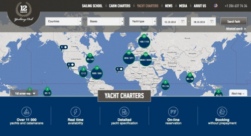 Map your next sailing vacation